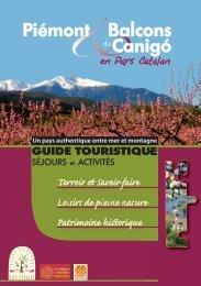 Piémont et Balcons du Canigó en Pays Catalan - Terres Romanes ...