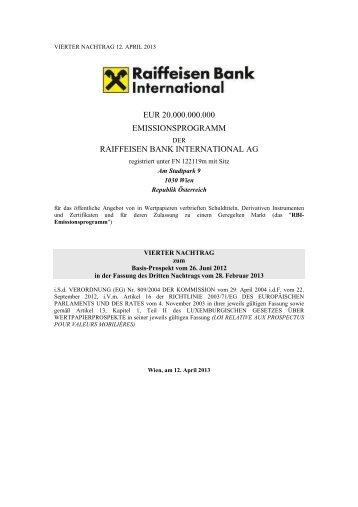 2013-04-12_vierter nachtrag - Investor Relations - Raiffeisen Bank ...