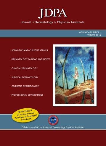 Supplement for the International pemphigus & pemphigoid Foundation
