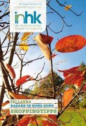sHoppingtipps - inHK Magazin