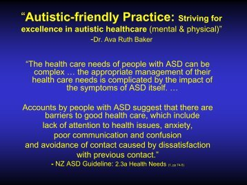 Invisible end of the spectrum - Altogether Autism