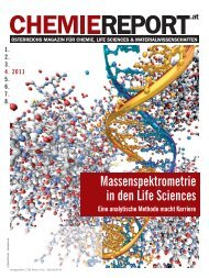 Massenspektrometrie in den Life Sciences - Chemiereport