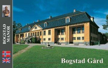 Bogstad Gård - Trykksakdesign