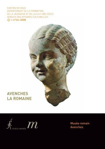 Musée romain, Avenches - Bibliothèque cantonale et universitaire ...