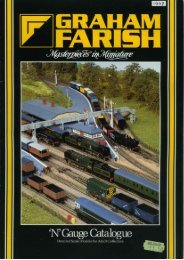 Graham Farish 1997 Catalogue