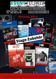 Stage-Zubehör - Event Technik 3000