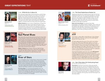 2013 Festival Program - Part 2 - The Word On The Street
