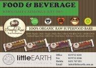 FOOD & BEVERAGE - littleearth.com.au