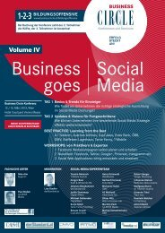 Business Goes Social Media - Business Circle