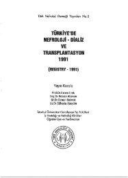 1991 Türkçe - Türk Nefroloji Derneği