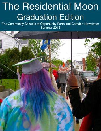 2013 Graduation Edition - Wayfinder Schools