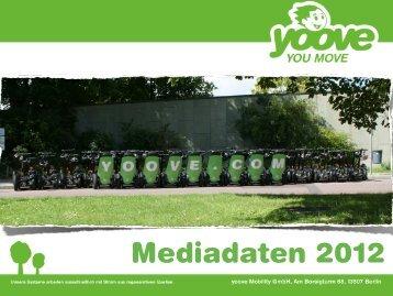 Mediadaten 2012 - yoove Mobility GmbH