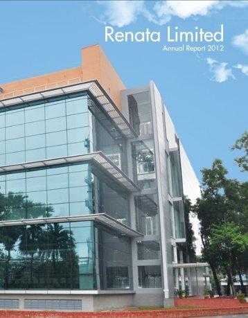 Download Annual Report - Renata