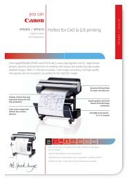 Perfect for CAD & GIS printing - Concept Group