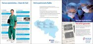 Brochure Hospital Services tenues opératoires - Initial Luxembourg
