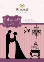 Hochzeit - Böinghoff Catering