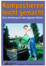 Kompostieren leicht gemacht - eine Anleitung für den eigenen Garten