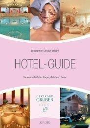 Hotel-Guide - Gertraud Gruber Kosmetik