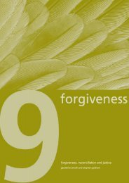 forgiveness, reconciliation and justice - Contemporary Christianity