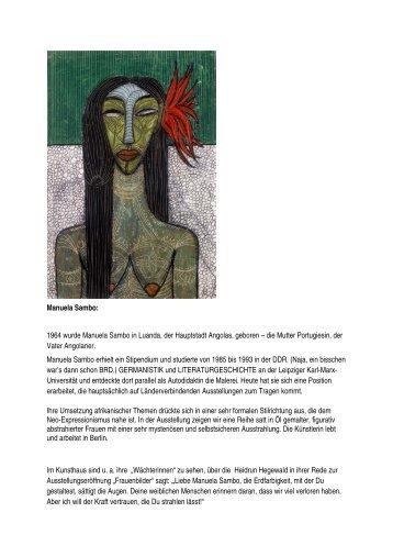 Manuela Sambo: - Viernheim