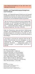 Evaluierung psychischer Belastungen - Arbeiterkammer - Seite 6