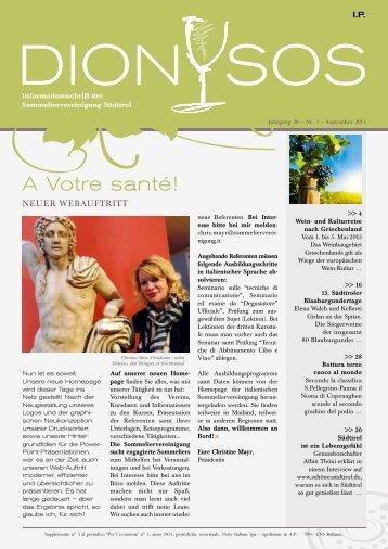 Ausgabe 2013-03.pdf - Sommeliervereinigung Südtirol