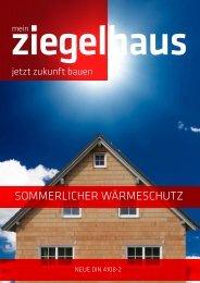 sommerlicher wärmeschutz - Adolf Zeller GmbH & Co. Poroton ...