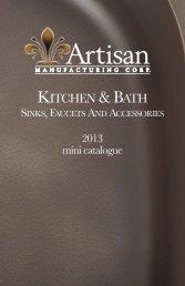 to view Artisan mini-catalog - Washington Marble Works