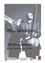 Musikkulturen - Logo des NRW Kultursekretariats
