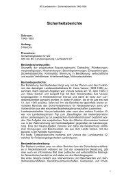 Sicherheitsberichte - Das Land Niederösterreich