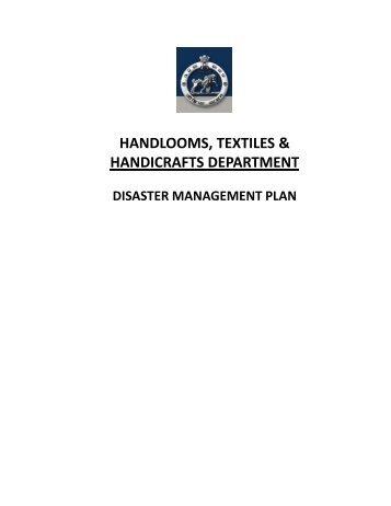 HANDLOOMS, TEXTILES & HANDICRAFTS DEPARTMENT