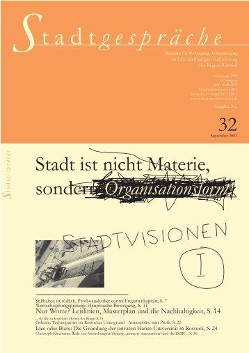 tadt gespräche - Stadtgespräche Rostock
