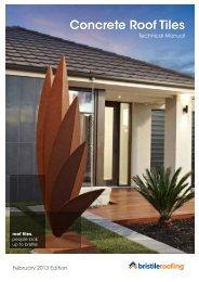 Concrete Roof Tiles - Bristile Roofing