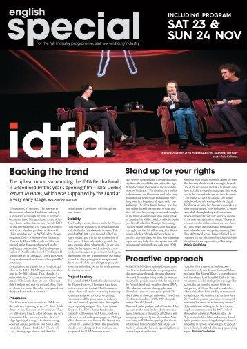Issue 2: November 23-24 - IDFA
