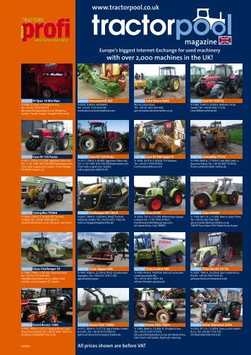 magazine www.tractorpool.co.uk - traktorpool-Magazin