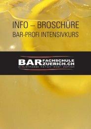 INFO – BROSCHÜRE - Barfachschule Zürich