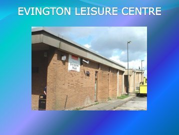 Evington Leisure Centre - Energy Metering Technology Ltd