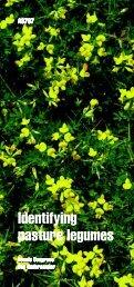 Identifying Pasture Legumes (A3787) - Wayne SWCD