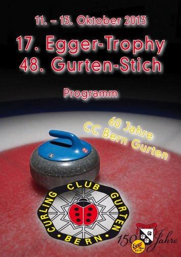 Turnierprogramm - Curling Bahn Allmend Bern