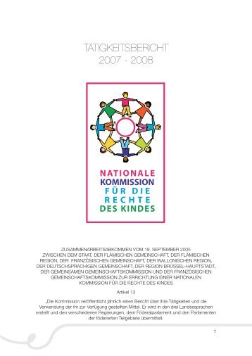 rapport activité_DE.indd - The National Commission on the Rights of ...