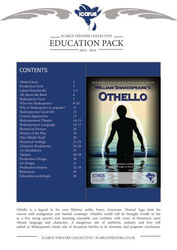 an analysis of othellos impotence in othello by william shakespeare Othello - plot and character analysis of shakespeare's othello.