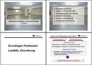 Grundlagen Parkbauten Lastfälle, Einordnung - Georg-Simon-Ohm ...