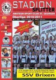 ASC St. Georgen - Volksbank - Home: Sport News Südtirol