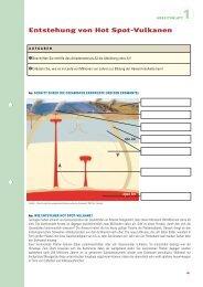 Entstehung von Hot Spot-Vulkanen - Max-Wissen