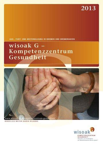 Jahresprogramm 2013 wisoak G - Wirtschafts