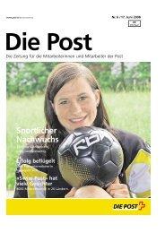 «Die Post» - Personalzeitung - La Poste