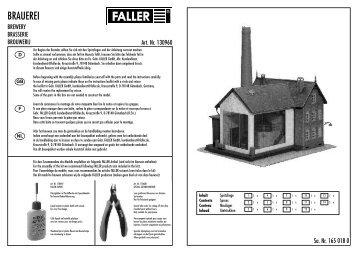 130960 Anleitung - Faller