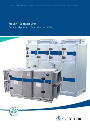 FRIVENT Compact Line - 2013 (3 Mb) - Systemair