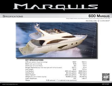 600 Marquis - Dick Simon Yachts
