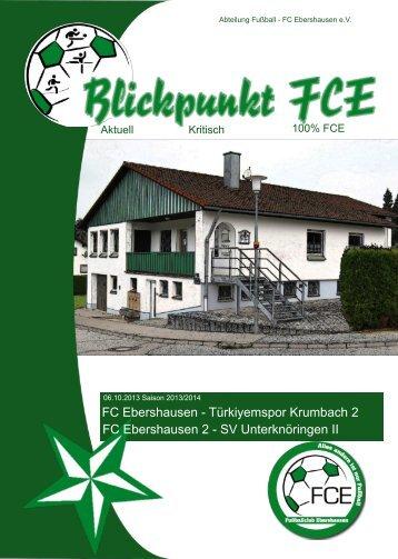 FC Ebershausen - Tobias Schlosser Webdesign